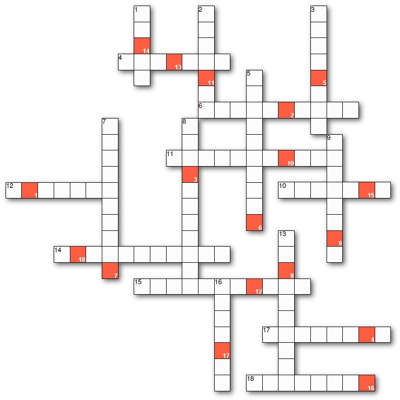 Kürzlich Kreuzworträtsel